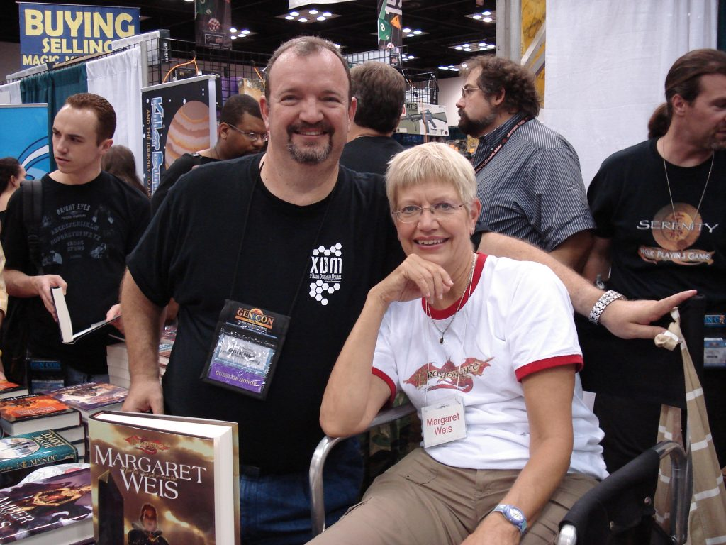 Tracy Hickman and Margaret Weis - GenCon 2008