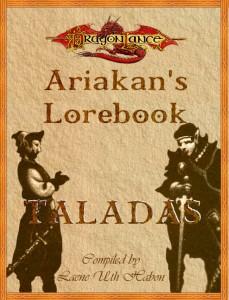 Ariakan's Lorebook