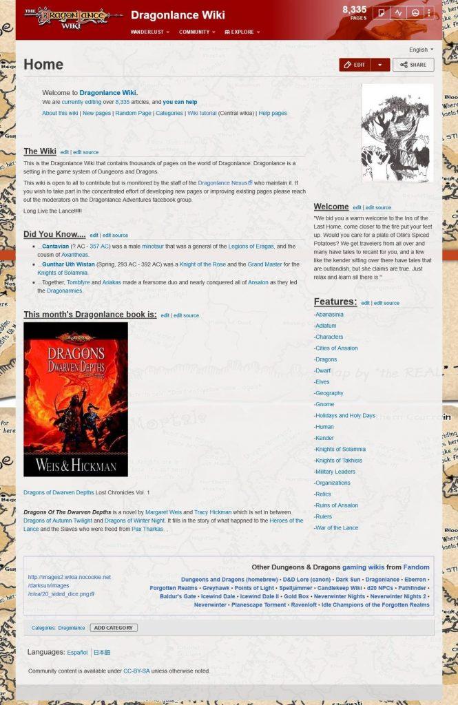 Dragonlance-Wiki