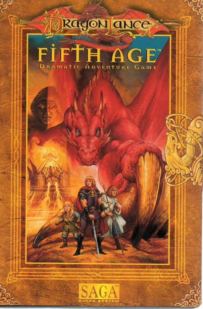 Fifth Age Dramatic Adventure Game