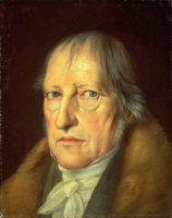 Hegel portrait by Jakob Schlesinger 1831