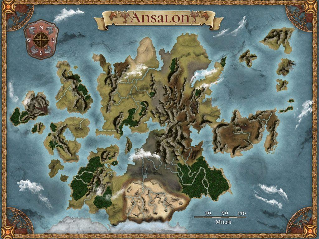 Map of Ansalon