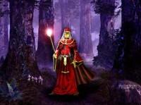 Raistlin in Darken Wood