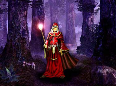 Raistlin in Darken Wood