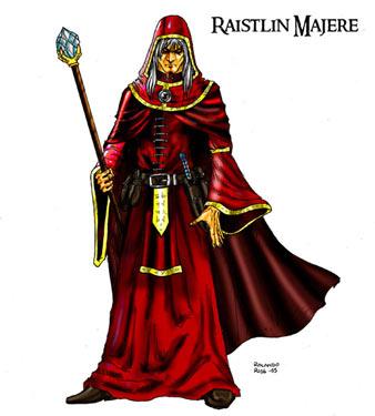 Raistlin in Red Robes
