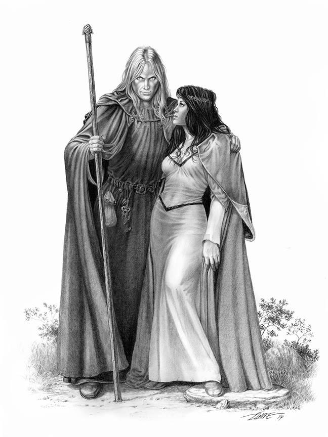 Raistlin and Crysania