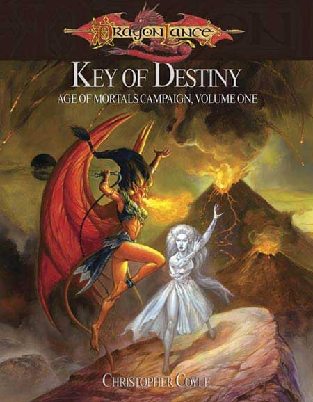 Cover of Key of Destiny: Age of Mortals Campaign Volume One