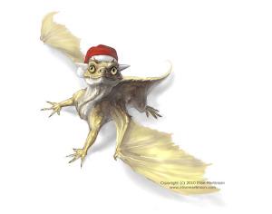 Lil Dragon - Santa Hat Edition