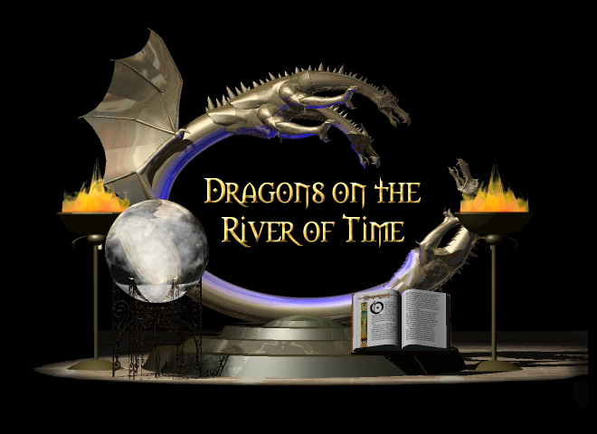 Dragons on the River of Time Logo