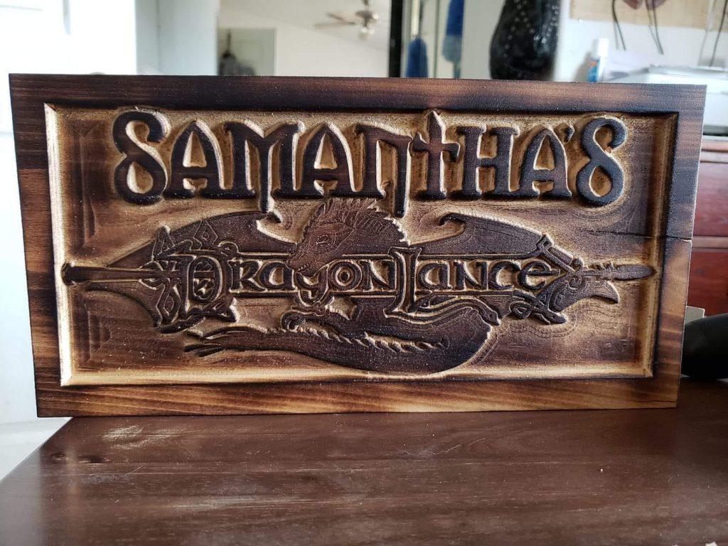 Samantha's Dragonlance