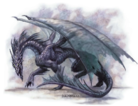 Shadow Dragon by Todd Lockwood