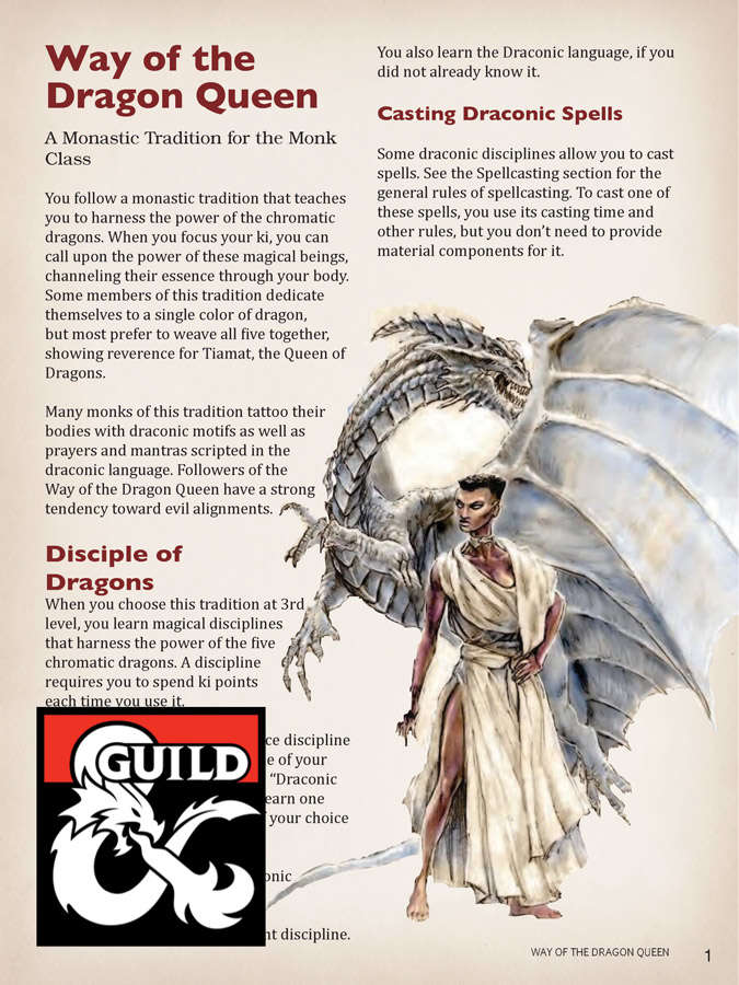 Way of the Dragon Queen