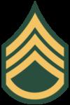 Staff sergeant insignia U.S. Army